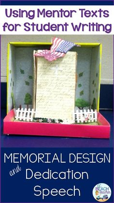 Speech Writing and Memorial Design Writing Activities, Classroom Activities, Reading Resources, Teacher Resources, Teaching Ideas, English Language, Language Arts, Ap English, English Lessons