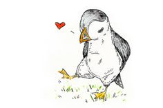 A beautiful puffin illustration from one of our team members, Marika Paz. Check out more of her work here: http://www.marikapaz.com/