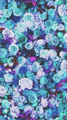 Фон Синие розы - AVATAN PLUS