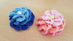 Crocheted flower 50