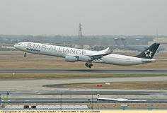 "Foto Lufthansa Airbus A340-642 D-AIHC • Flies the name of my hometown ""Essen"" around the world"