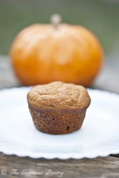 Clean Eating Pumpkin Spice Mini Muffins