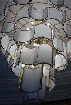 warm For Intelligent Control Industrious 2019 Real Abajur New Pattern Double Layer Large Lotus Type Ceiling Lamp Light Hardware Iron Big Clearance Sale