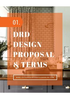 Dayka Robinson Designs Design Proposal Terms 2016 Interior Contract Business