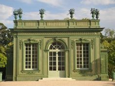 Built in 1753 by Ange-Jacques Gabriel for Louis XV in Versailles and Trianon demolished in 1810, Cool Pavilion was  completely restored in 2010