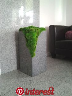 "Idealna dekoracja do łazienki, mech stabilizowany, ""Kaskada"" Perfect decoration for the bathroom, stabilized moss, ""Kaskada"" Moss Wall Art, Moss Art, Indoor Garden, Garden Art, Indoor Plants, Concrete Art, Concrete Projects, Flower Garden Design, Flowers Garden"