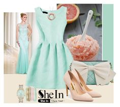 """Shein"" by irinavsl ❤ liked on Polyvore featuring Sean Collection, Betsey Johnson and Rupert Sanderson"