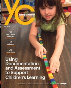 Using Documentation and Assessment to Support Children's Learning - NAEYC's Young Children PDF Article ≈≈ http://www.pinterest.com/kinderooacademy/documentation/