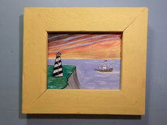 Original Acrylic Painting Seascape by F Sevy by FranklinsArtStudio