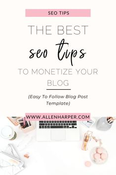 Using SEO on your blog is the best way to get your content found especially if you want to make money blogging. In this post, I reveal the easy method for on page SEO for blogging success. If you want to make money blogging and monetize your blog then avoid the SEO mistakes that will cost you blogging income, lost affiliate sales and low optin rates.  #bloggingtips #makemoneyblogging #keywordresearch #blogSEO #makemoneyonline #monetizeyourblog Social Media Apps, Make Money Blogging, Make Money Online, How To Make Money, Blog Post Template, Online Entrepreneur, Seo Tips, Blogging For Beginners, Motivation
