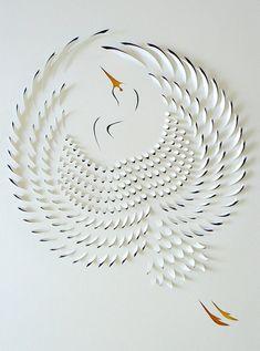Hand Cut Paper Artworks