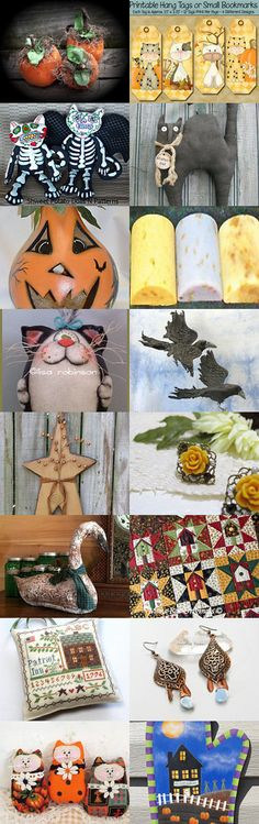 Halloween and fall collection from TeamHAHA by Angie on Etsy--Pinned with TreasuryPin.com