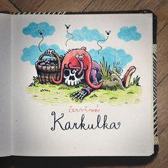 Červivá Karkulka  #brushpen #pentel #pentelbrushpen #crayon #copic #copicmarkers #paper #illustration #traditionalart #comics #cartoon #sketch #sketches #sketchbook #worm #redridinghood #fairytail #czech #macomix Pentel Brush Pen, Paper Illustration, Fairytail, Red Riding Hood, Copic, Worms, Traditional Art, Sketches, Cartoon