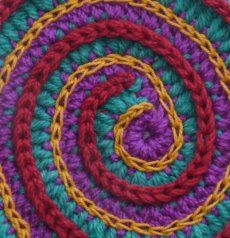 Really good tutorials on how to crochet surface embellishments