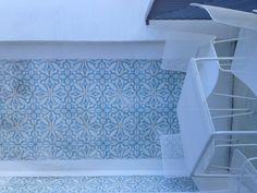 Ligne roset patterned tile Miami design district