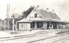station Santpoort Zuid 1870
