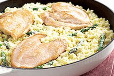 15 Minute Chicken and Asparagus Risotto Recipe - Kraft Canada