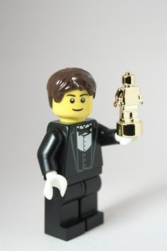 """Custom Lego minifigure """" And the award goes to!"""" irresistible all dressed up and ready to go."""