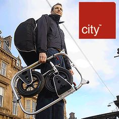 Lots of spiffy bike trailer designs. The one in the photo is a foldable version for urban use. Bike Trailer, Cargo Trailers, Scooter Design, Bike Design, Cargo Bike, Narrowboat, Brompton, Electric Scooter, Techno