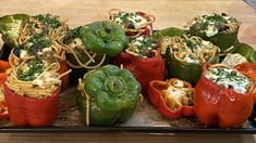 Bucatini Stuffed Peppers Recipe From Rachael Ray | Rachael Ray Show