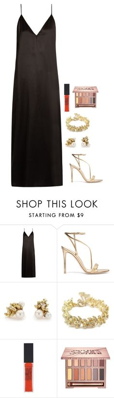 """Untitled #1000"" by h1234l on Polyvore featuring Raey, Gianvito Rossi, Ruth Tomlinson, Chanel, Maybelline and Urban Decay"