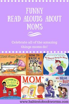 Check out some funny books about Moms and all that they do! Books About Moms Funny Kids Books Mother's Day Books Funny Books For Kids, Funny Kids, Kid Books, Parenting Books, Parenting Advice, Mom Advice, Parenting Quotes, Mothers Day Book, Thing 1