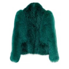 Жакет из меха лисы, Gucci ❤ liked on Polyvore featuring outerwear, coats, jackets, fur, green fur coat, gucci coat, fur coat, gucci e green coat