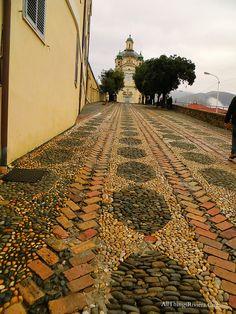 """""""Santuario Madonna Della Costa in Sanremo Italy'"""