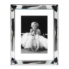 Marilyn Monroe Mirrored Frame 34 x 26