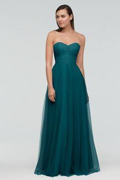 Weddington Way is now closed Strapless Dress Formal, Formal Dresses, Bridesmaid Dresses, Wedding Dresses, Green Bridesmaids, Wedding Styles, Ball Gowns, Bridal, Favorite Color