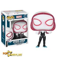 From the Marvel Universe, Spider Gwen, as a stylized POP vinyl from Funko! Figure stands 3 inches and comes in a window display box. Check out the other Marvel figures from Funko! Collect them all! Funko Pop Marvel, Marvel Pop Vinyl, Funko Pop Spiderman, Spider Man Funko Pop, Pop Vinyl Figures, Marvel Universe, Tekken Wallpaper, Marvel Spider Gwen, Funko Pop Dolls