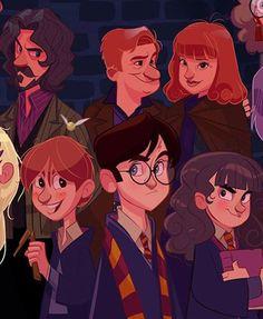 Si Harry Potter avait droit à sa série animée 04
