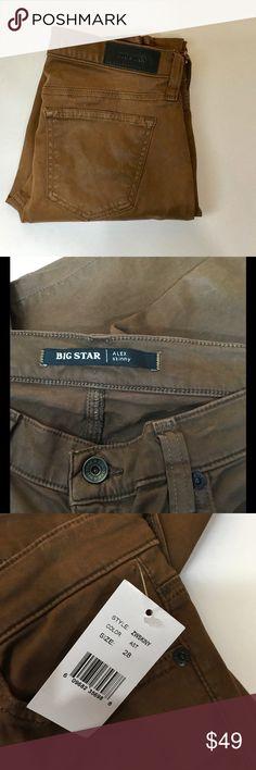 """BIG STAR ALEX SKINNY JEANS NWT. Inseam is 29"""". Big Star Jeans Skinny"""
