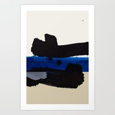 Abstract, gestural painting related to mid-century minimalism and Japanese Shodo tradition (Japanese Zen calligraphy). Lost Horizon, Buddhism, Minimalism, Zen, Original Paintings, Mid Century, Calligraphy, Japanese, Art Prints