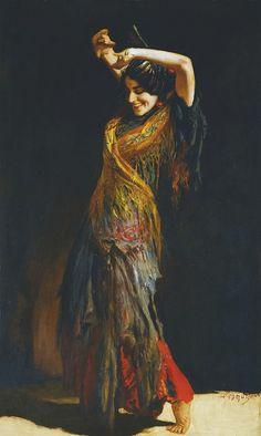 by Leopold Schmutzler, (Austrian 1864-1941)