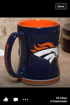 Denver Broncos mug