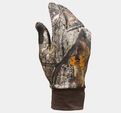 Under Armour Hurlock Camo Hunting Gloves