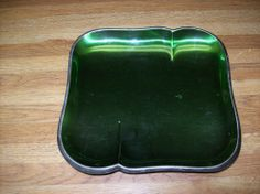 Wallace Silver Plated Green Serving Tray 9047