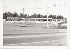 Photo from Lisa Cooper's Every Now and Then. This was Douglasville's first shopping center, Forest Mart on Fairburn Road. Lithia Springs, Rio Vista, Old School House, Douglas County, Park Hotel, Shopping Center, Vintage Postcards, Old Houses, Georgia