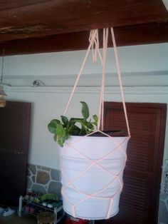 My craft for flower pot.