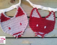 Crochet Fox Garland Pattern, Crochet Bunting,