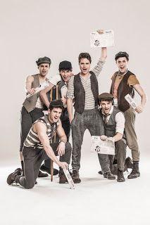 """TG Musical e Teatro in Italia: Presentato il cast di """"Newsies- il musical"""""""