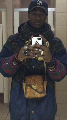 orlando-devon: - Hand Made jacket made by myself - Bag From Argentina - Buddha Bracelets - Infinity Scarf - Septum blackfashion - Instagram: Orlando_Devon