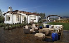 Residence 1x - Cabana at The Estates I New Homes at Del Sur in San Diego.