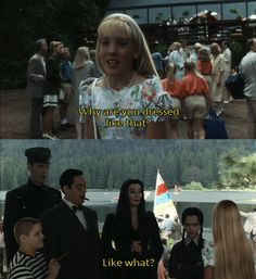 Love the Addams Family, I was always told that I was like Wednesday when I was younger. Now that I'm older, I want love like Gomez and Morticia have lol! Addams Family Quotes, Addams Family Values, The Addams Family, Family Values Quotes, Stupid Funny Memes, Hilarious, Movie Quotes, Funny Quotes, Gomez And Morticia