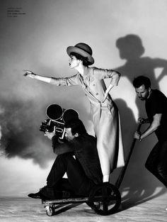 Coco Rocha for L'Officiel Italia by Kristian Schuller