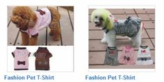 Interested in Fashion Pet T-Shirts?  Click here to find pet clothes that will make your pet look like a star!  http://ow.ly/DjirZ http://ow.ly/i/7ljmj