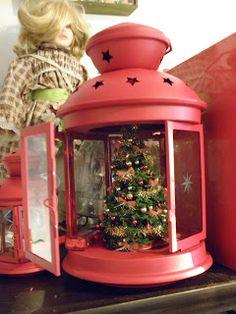 Christmas Shoebox, Ikea Christmas, Christmas Scents, Christmas Lanterns, Prim Christmas, Christmas Makes, Christmas Holidays, Christmas Ornaments, Lantern Crafts