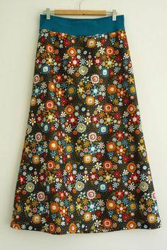 Jitu: Jednoduchá sukně do nápletu - fotonávod