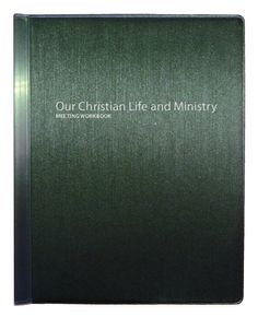 New! Our Christian Life and Ministry Meeting Workbook Folder.  Be prepared for our new meeting with our high quality folder.  Comes in hardback for practical use and durability, embossed in silver, and with a slide on spine to easily add and remove individual Workbooks.  Holds Approx 6 months worth of Workbooks. Folders Keeps your Meeting Workbooks Organised and Protected